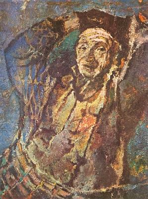 Na olejomalbě Oskara Kreibicha (1916-1984)  roku 1957
