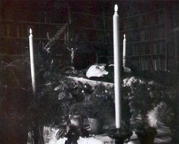 Jeho posmrtná maska a její vznik - Kubinovu hlavu ataké ruce sňal do sádry sochař Toni Schneider-Manzel (1911-1996)
