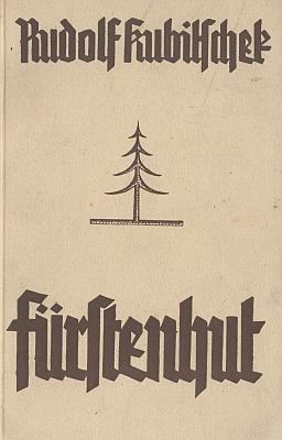 Obálka jeho brožury o Knížecích Pláních (1941, Karl Maasch