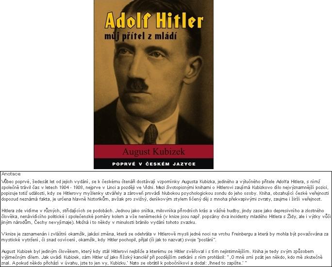 Obálka (2012) českého překladu jeho knihy v nakladatelství Tygros a anotace knihy