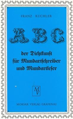Obálka (1991) jeho učebnice pro uživatele bavorského nářečí anářeční autory vydané nakladatelstvím Morsak v Grafenau