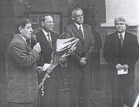 Při příležitosti odhalení pamětní desky JUDr. Otakara Kudrny byl v Netolicích jmenován čestným občanem města