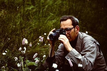 Při fotografování žluťáska borůvkového, vyskytujícího se na Šumavě i v Novohradských horách
