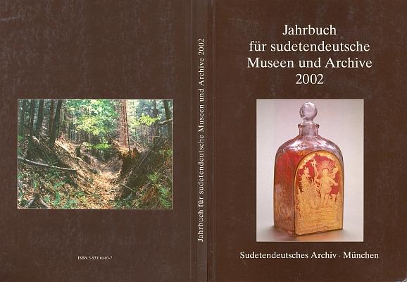 Obálka ročenky (2002, Sudetendeutsches Archiv München), v níž jeho studie o sudetoněmeckých lepidopterolozích vyšla