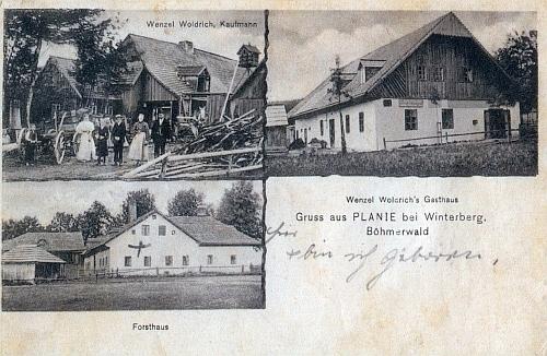 """Také Planie mívaly svou """"složenou"""" pohlednici"""