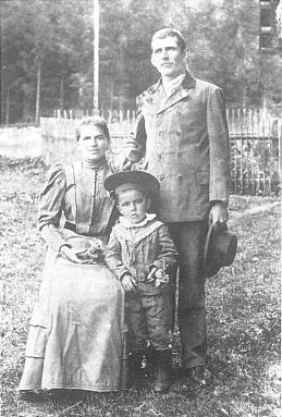 Rodina Kufnerova  a malý Pepi