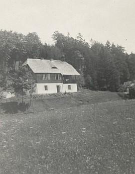 Mlýn u Prachatic v roce 1935