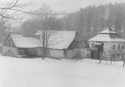 Kandlův mlýn u Prachatic, kam jezdíval i F.X. Šalda a Julius Zeyer, v osmdesátých letech dvacátého století