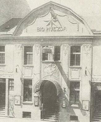 Českobudějovické Bio Hvězda v roce 1928
