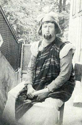 Jako rabín Sadek roku 1936 ve svých dvaceti letech