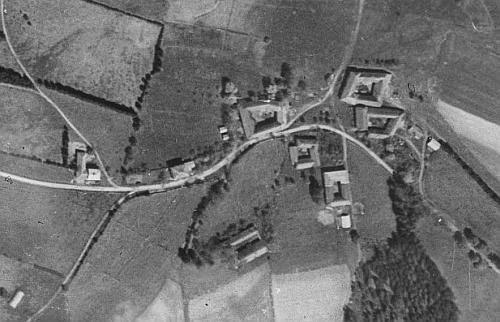 Bednáře (viz i Adolf Jaksch a Heinrich Kurz) na leteckých snímcích z roku 1949 a 2008