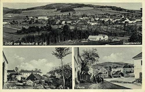 I Novosedly měly kdysi svou pohlednici