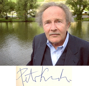 Ve Frankfurtu nad Mohanem, kde zemřel a je pochován, zdenasnímku z roku 2008, pět let před svou smrtí