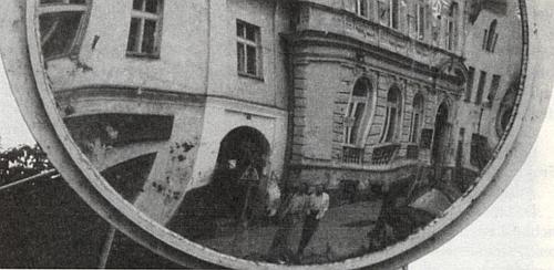 S Harry Oberländerem v odrazu zrcadla (Tachov 1996)