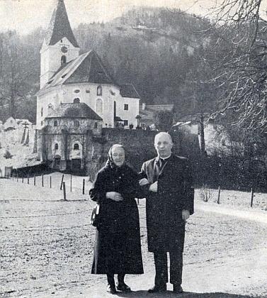 S maminkou v Leonsteinu