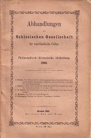 Obálka sborníku s jeho pojednáním o Šumavě