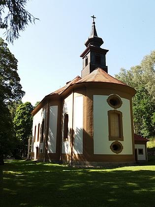 Kostel Bolestné Matky Boží na Dobré Vodě u Horní Plané