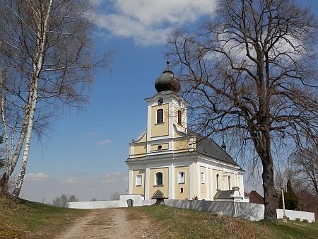 Poutní kostel sv. Vojtěcha ve Lštění