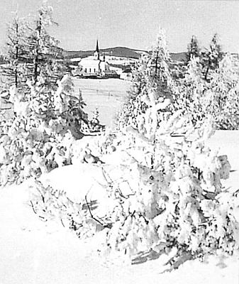 Světlík v zimě roku 1943 - to už byl Ludwig Steffl mrtev a Hitler prohrál u Stalingradu