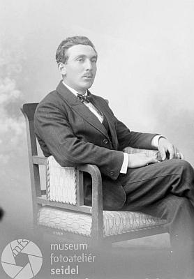 Snímek, pořízený 15. dubna 1923, opět pro Ludwiga Steffla zeSvětlíku