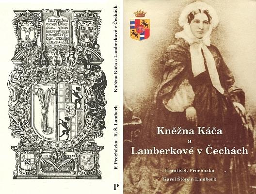 Obálka knihy o rodu Lamberků v Čechách, kterou vydala Agentura Pankrác (2003)