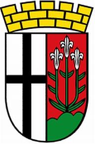 Znak jeho rodného města Fulda