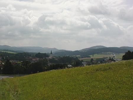 Pohled na dnešní Schlägl