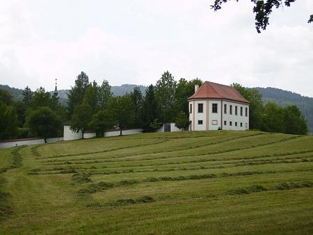 Horní část areálu kláštera