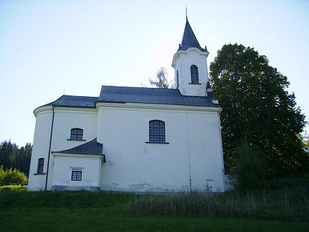 Poutní kostel v roce 2011