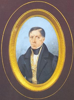 Jiný jeho autoportrét z roku 1835