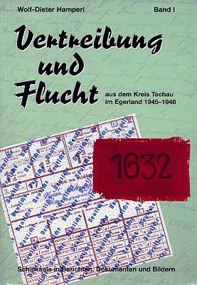Obálka (1997, Oberland-Presse) knihy, kde je připomenut svým životopisem