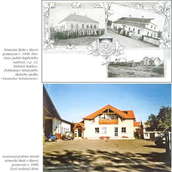 Německá škola v Raveni dříve a dnes