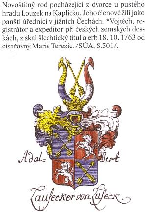 O rodu Lauseckerů v českém Velkém erbovníku