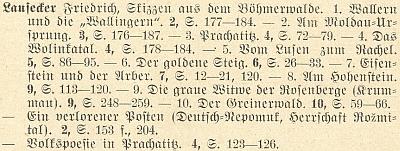 Seznam jeho příspěvků v obsahovém rejstříku 1.-60. ročníku MVGDB