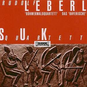 """Obal gramofonové desky s jeho skladbami """"Böhmerwaldquartett"""" a  """"Das Bayerische"""" v nahrávce Sukova kvarteta (1995, vydavatelství Balance)"""
