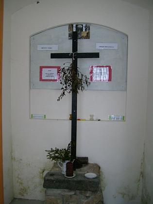 Kaplička v Sedmidomí