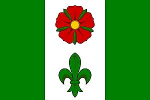 Znak a vlajka obce Chroboly