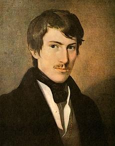Na olejomalbě Friedricha Amerlinga