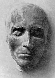 Posmrtná maska básníkova