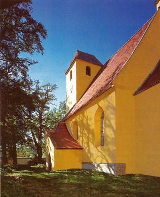 Farní kostel Stětí sv. Jana Křtitele v Žumberku...