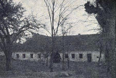 """Rodný dům v Žumberku, zvaný """"Altrichterhaus"""""""