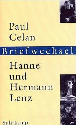 Obálka knihy jeho a ženiny korespondence sbásníkem Paulem Celanem vydané vnakladatelství Suhrkamp ve Frankfurtu nadMohanem (2001)
