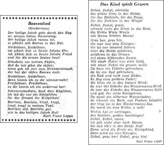 Dvě jiné jeho básně pro děti z téže přílohy