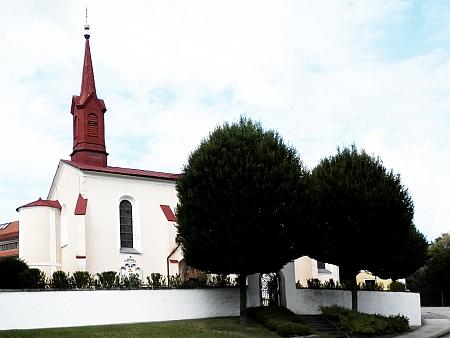Hřbitovní kaple ve Schläglu