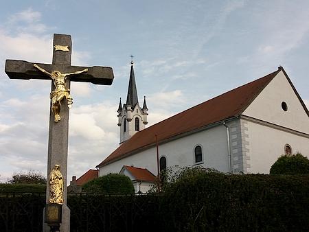 Kostely sv. Vavřince v Přídolí a sv. Bartoloměje ve Vyšším Brodě, dvě jeho kněžská působiště