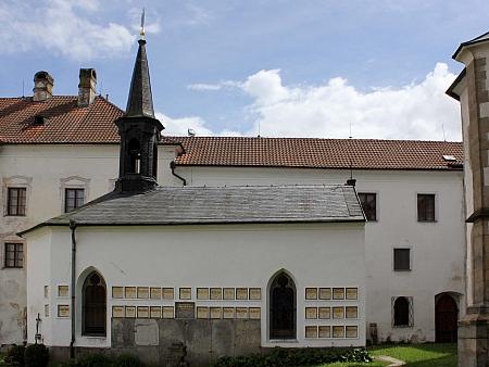 Hřbitovní kaple sv. Anny ve vyšebrodském klášteře