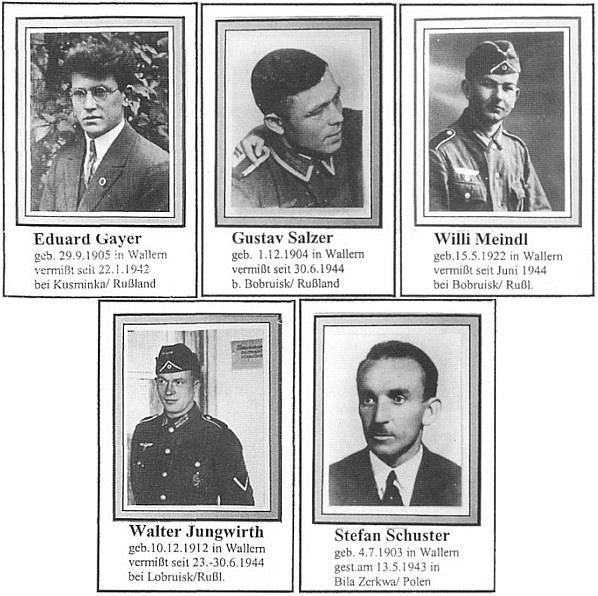 Pět muzikantů z Volar, odvedených s ním v únoru 1940, se už z války nevrátilo