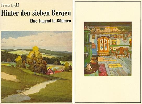 Obálka (1977) jeho knihy vydané v norimberském nakladatelství Helmut Preußler