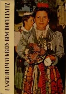 """Obálka (1967) krajanské pamětní knihy """"Unser Heimatkreis Bischofteinitz mit den deutschen Siedlungen im Bezirk Taus"""""""