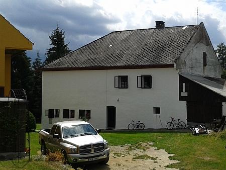 Původní selská stavení v Posudově